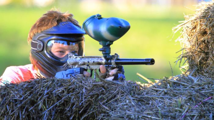 Are Paint Ball Games Dangerous for Children?