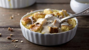 What Is a Recipe for Custard Bread Pudding?