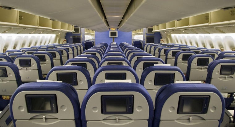 How Many Seats Are There on a Boeing 777?