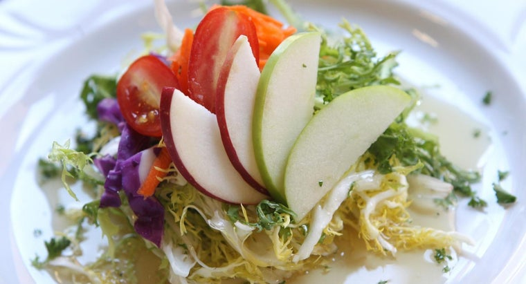 What Are Some Recipes for Easy Apple Salads?