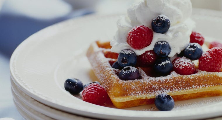 What Are Some Easy Recipes for Belgian Waffles?