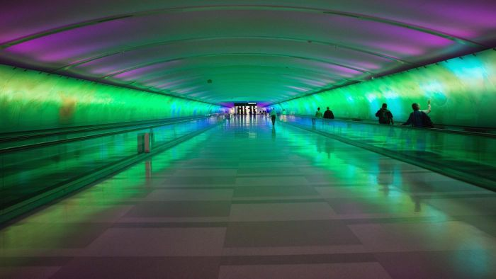 Is There Qwik Park at the Detroit Metro Airport?