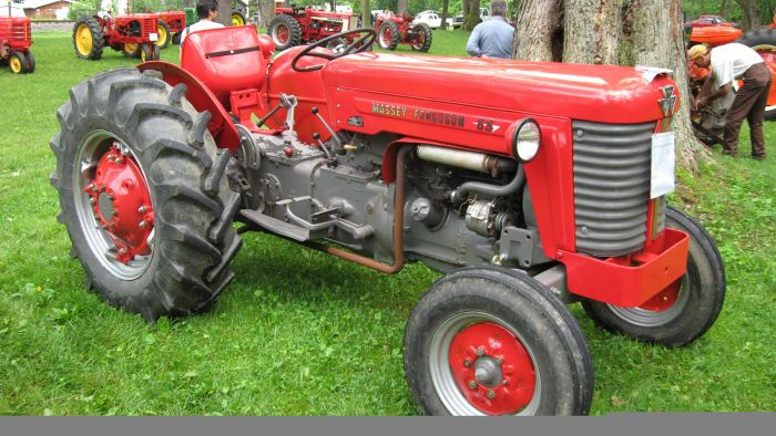 What are Massey Ferguson tractor parts?