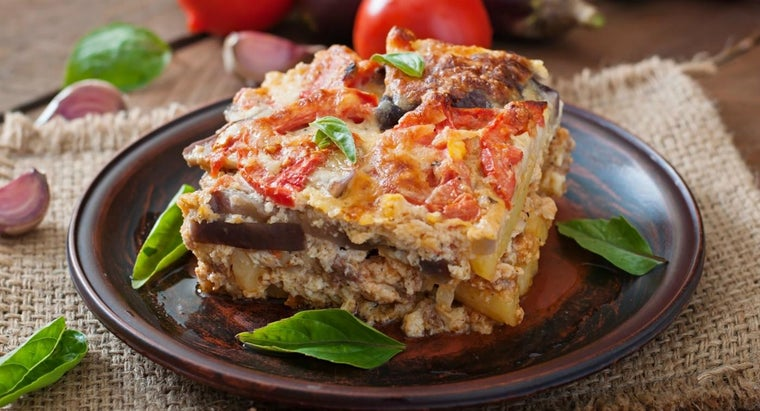What Is Greek Moussaka?