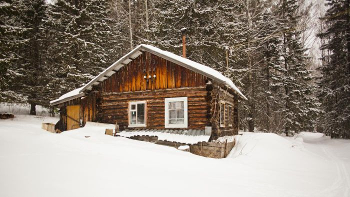 How do you maintain a new log home?