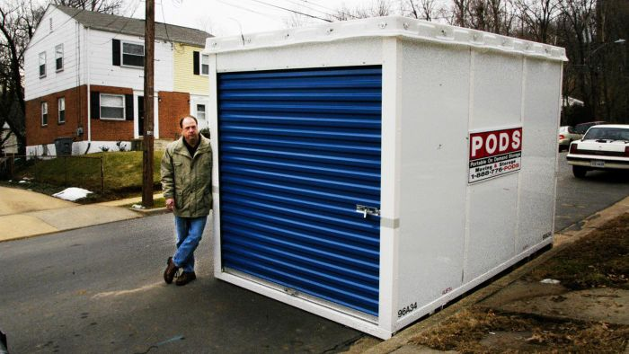 How Do You Rent a Storage Container?