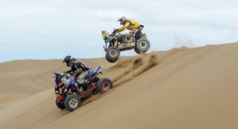 What Are Some Types of Yamaha All-Terrain Vehicles?