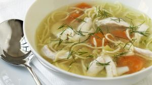 What is a good chicken soup recipe?