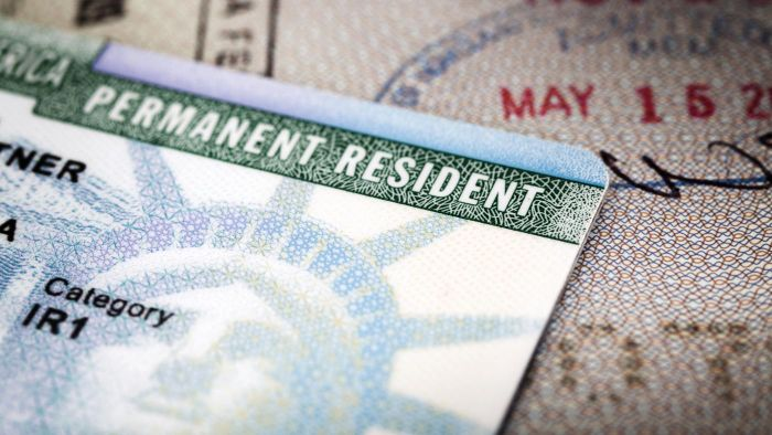What Types of Payments Are Required for a Green Card?