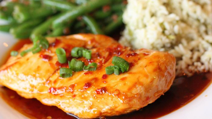 What is an easy Bourbon chicken recipe?