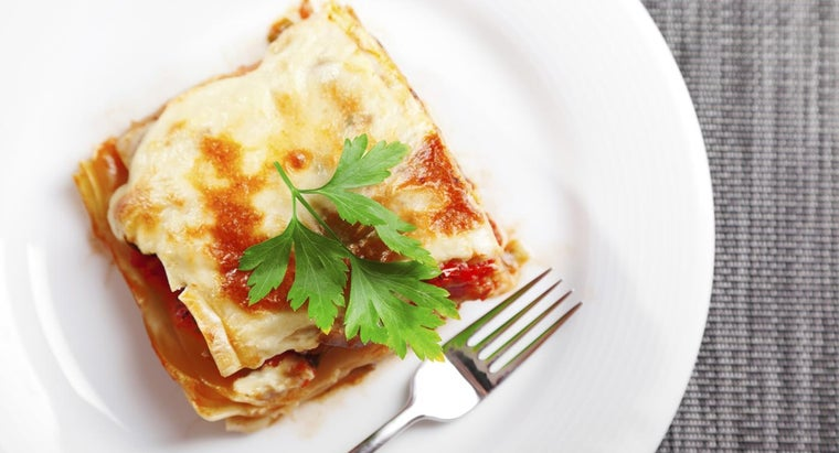 What Is a Recipe for Gluten-Free Lasagna?