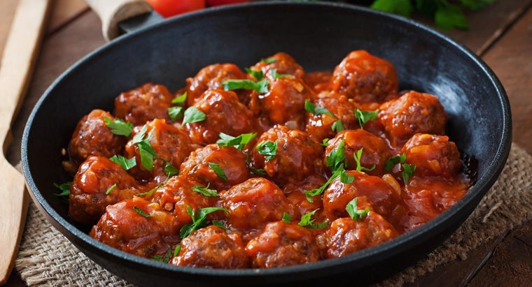 What Are Some Homemade Meatball Recipes?