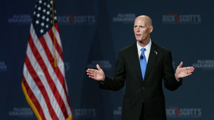 What Were Some Issues in Rick Scott's Campaign for Governor?