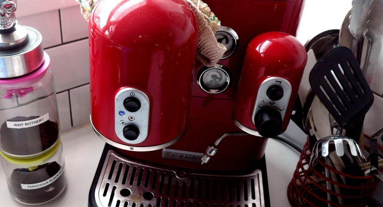 How Is a KitchenAid Coffee Maker Cleaned?