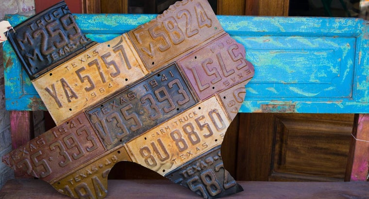 Where Do You Find Old State License Plates?