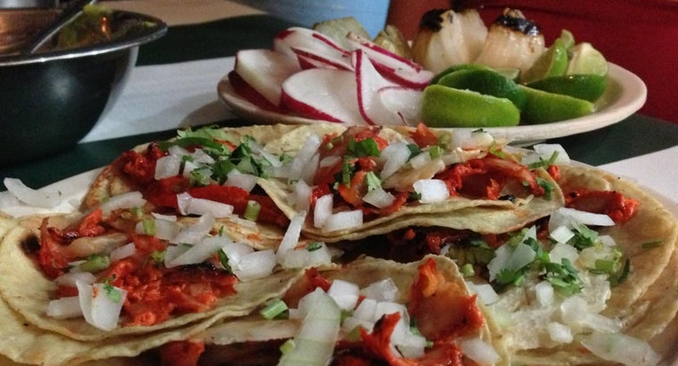 What Are Typical Ingredients in Easy Mexican Food Recipes?