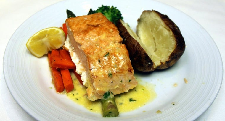 What Is an Easy Oven-Baked Salmon Recipe?