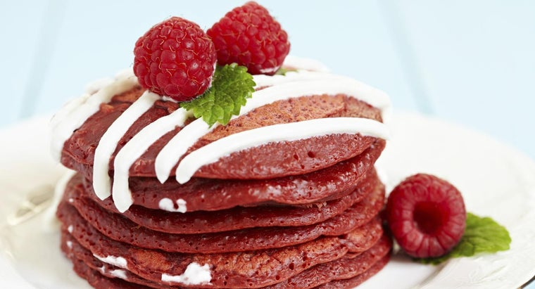 What Is a Recipe for Red Velvet Pancakes?