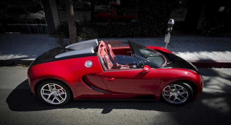 Where Can You Find a Bugatti Veyron for Sale?