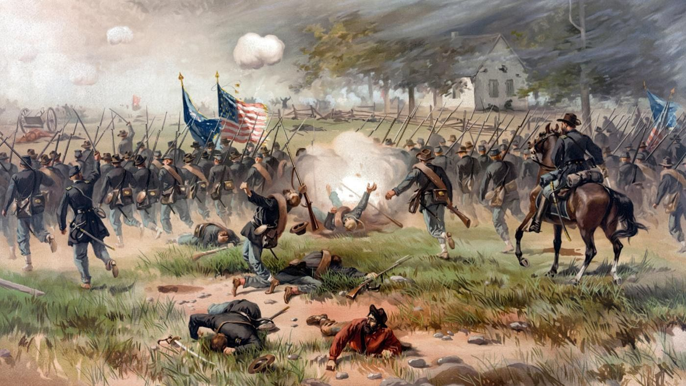 an analysis of union won the civil battle against the confederacy The union to attack the confederates in the battle of chancellorsville the confederacy won it further pushed union out of virginia civil war virginia.