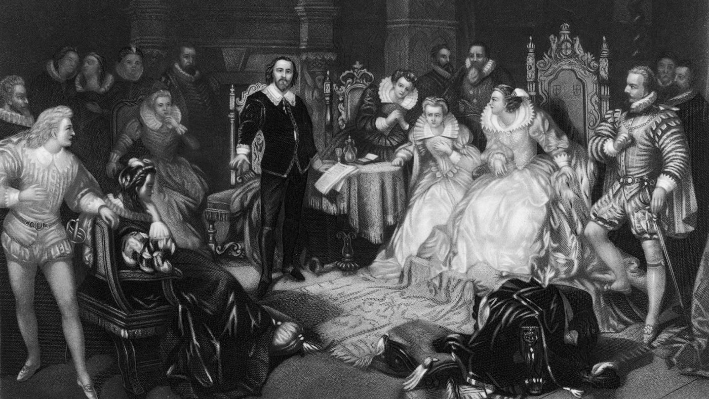 james i and william shakespeares macbeth James was a patron of shakespeare's acting company, and of all the plays shakespeare wrote during james's reign, macbeth most clearly reflects the playwright's relationship with the sovereign.
