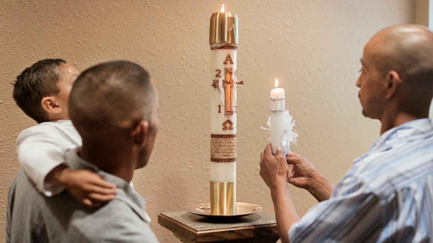 What is a baptism candle reference buycottarizona Gallery