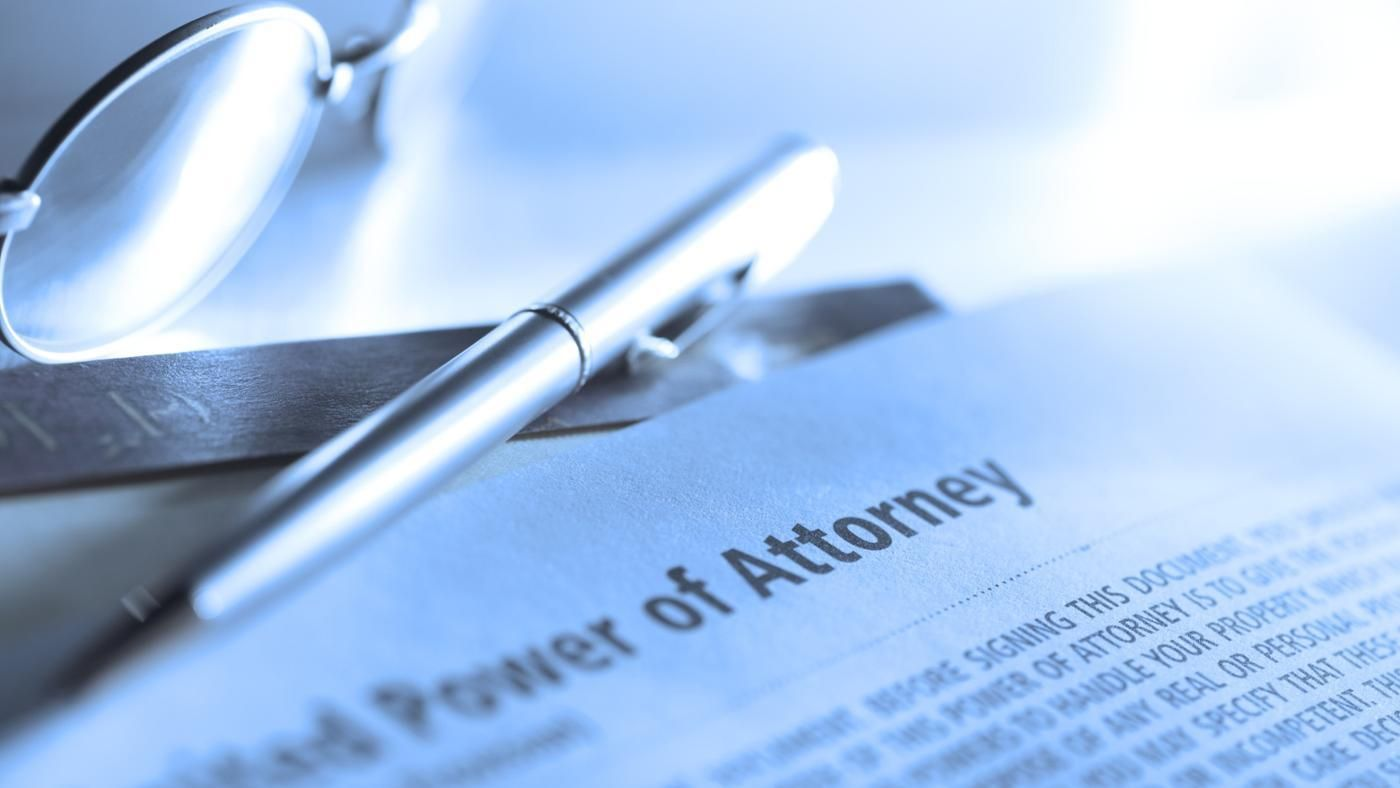 Where can i find a blank power of attorney form reference falaconquin