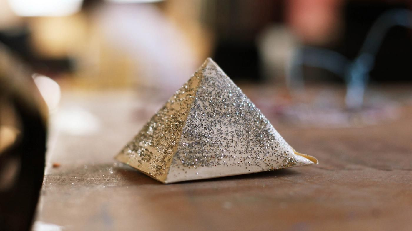 how can i build a pyramid for a school project