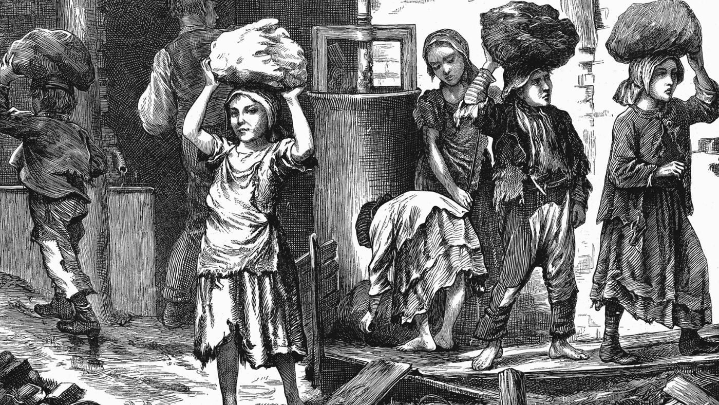 child labor 1800s Discover the history of child labor and child labor laws, then and now more sign in join  during the late 1700s and 1800s, child labor became increasingly harsh.