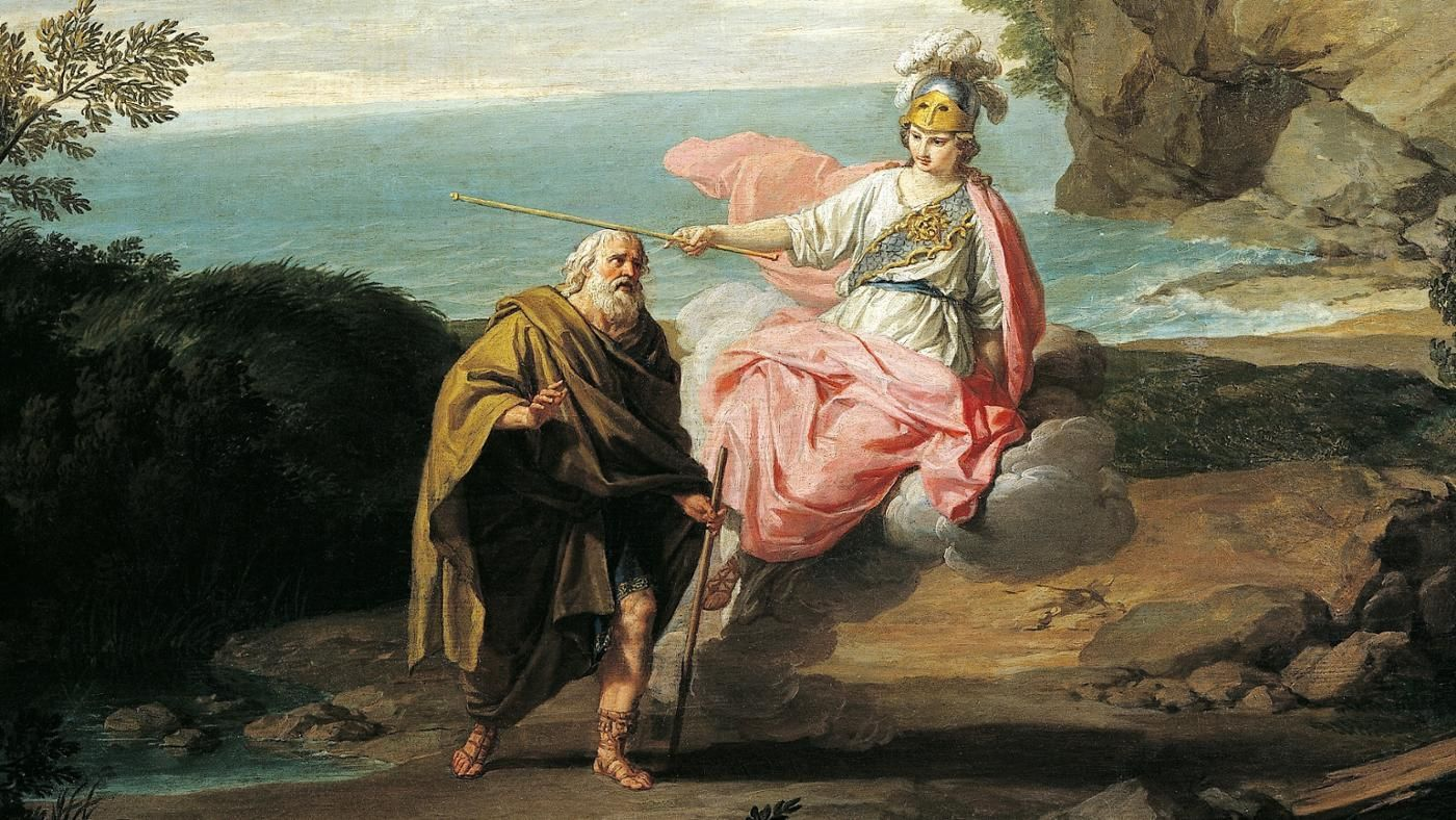the practical role of athene and odysseus in the odyssey Athena tells zeus of odysseus' fate on the island with calypso, and how she thinks that odysseus should be freed and allowed to amanda stubbins-helms july 23, 2013 gps 210: critical essay the roles of women in gilgamesh and the odyssey although men.