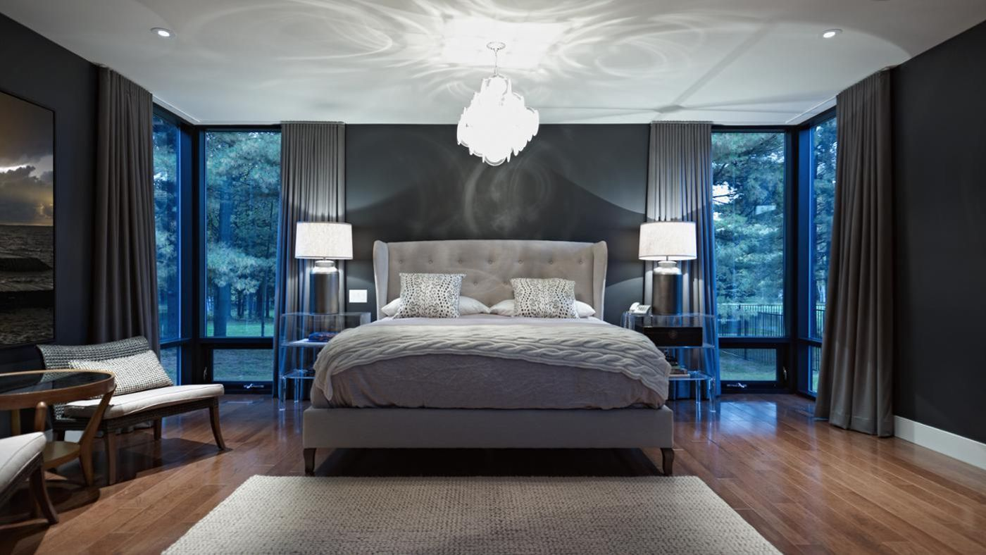 how big is the average master bedroom which direction should the of my bed 21077