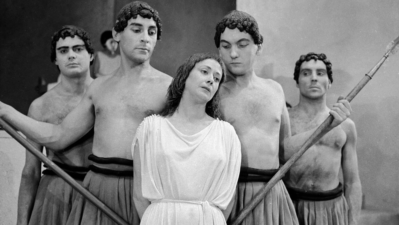 the question of whether antigone or creon was the hero on the play antigone Sophocles' antigone & aristotle's poetics  one could argue that antigone is the hero, but the entire play is rather short and her character is not well.