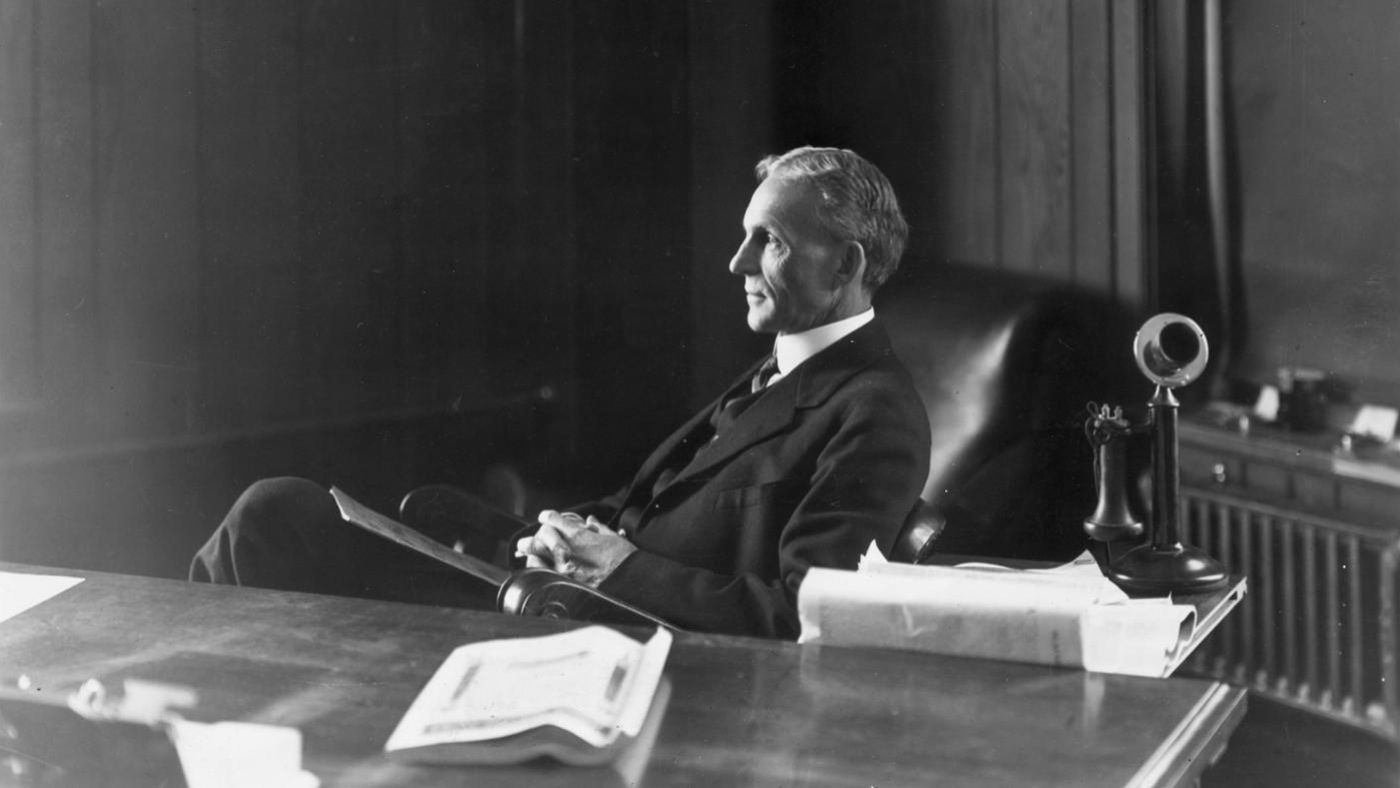 an introduction to the life of henry ford the founder of the ford motor company Henry ford, the founder of ford motor company  of ford motor company in 1919 the story of edsel and in my life was the day i married mrs ford.