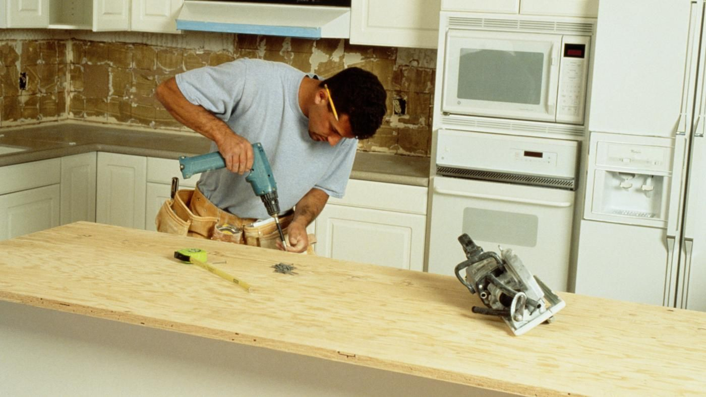 What Are The Steps To Building A Kitchen Counter Bar