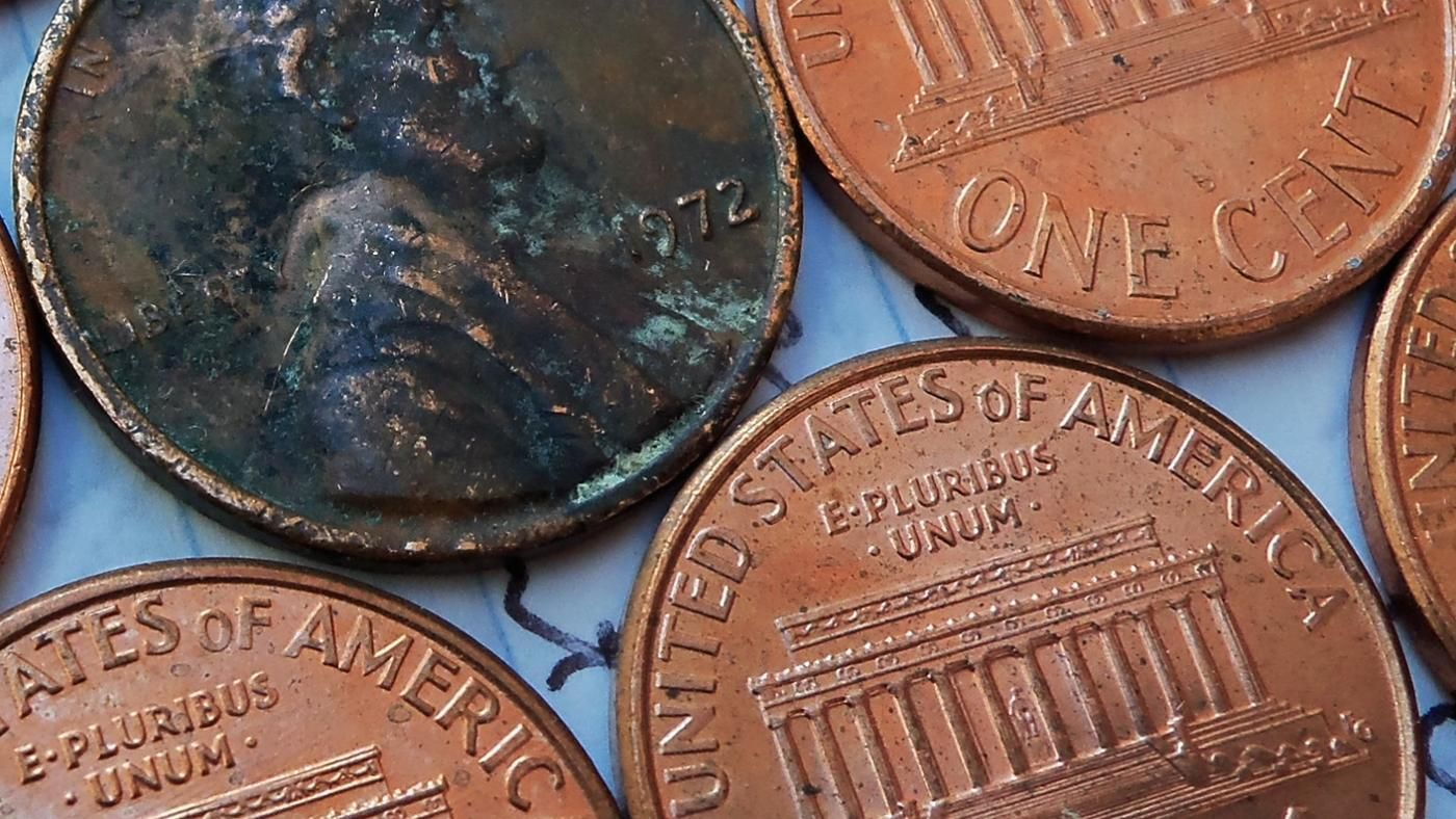 Pictures of copper pennies How many pennies per pound, Penny types - m