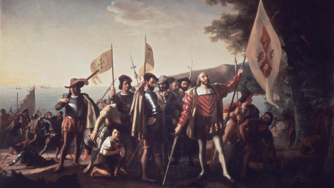 a look at the impact of christopher columbus in the history of america Puerto rico's history xv century christopher columbus set sail from cádiz and cattle) to america for the first time.