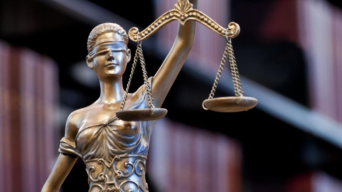 Why is lady justice blindfolded reference buycottarizona