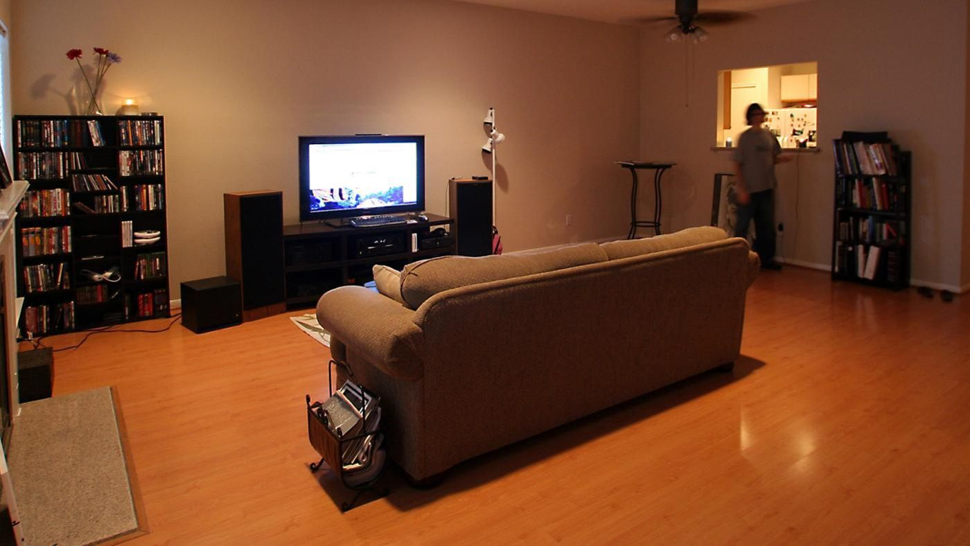 How large is 150 square feet in terms of room size - Standard living room size australia ...