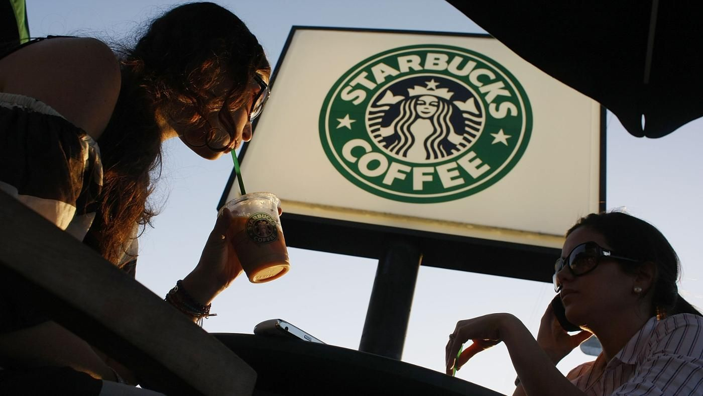 How many stores does starbucks have in the world for Starbucks in the world