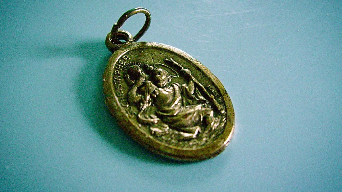 saint medallion the of patron catholic st expedite collector