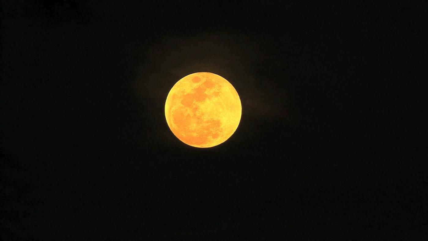 what is the meaning of a yellow moon
