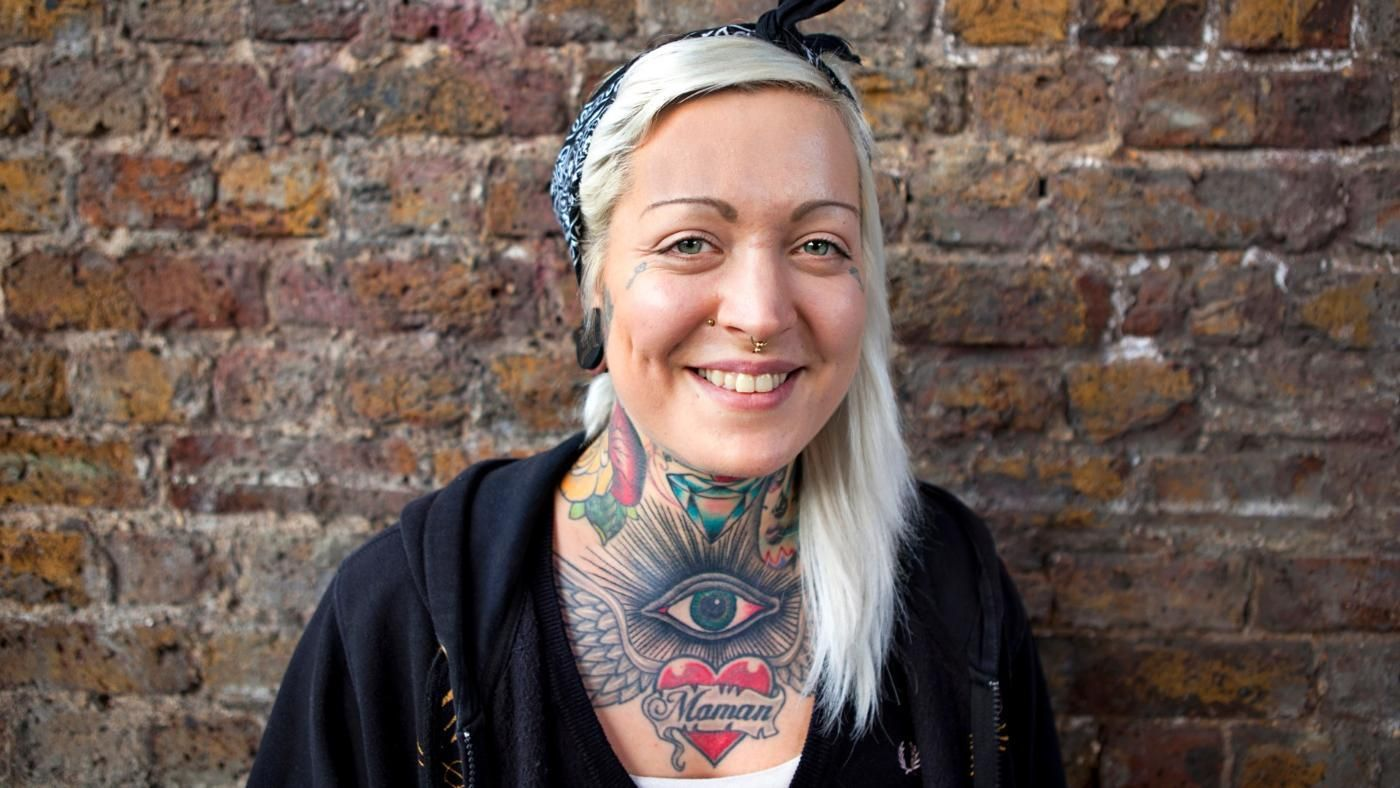 What do men think of heavily tattooed women for Anthony french tattoo