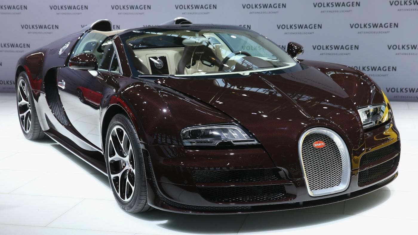 How much horsepower does a bugatti veyron have