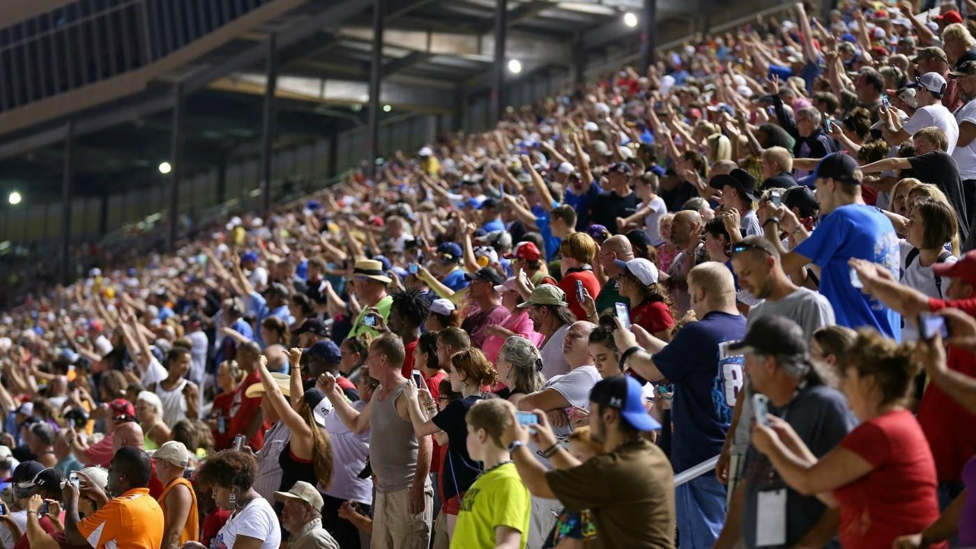 is nascar the number one spectator sport