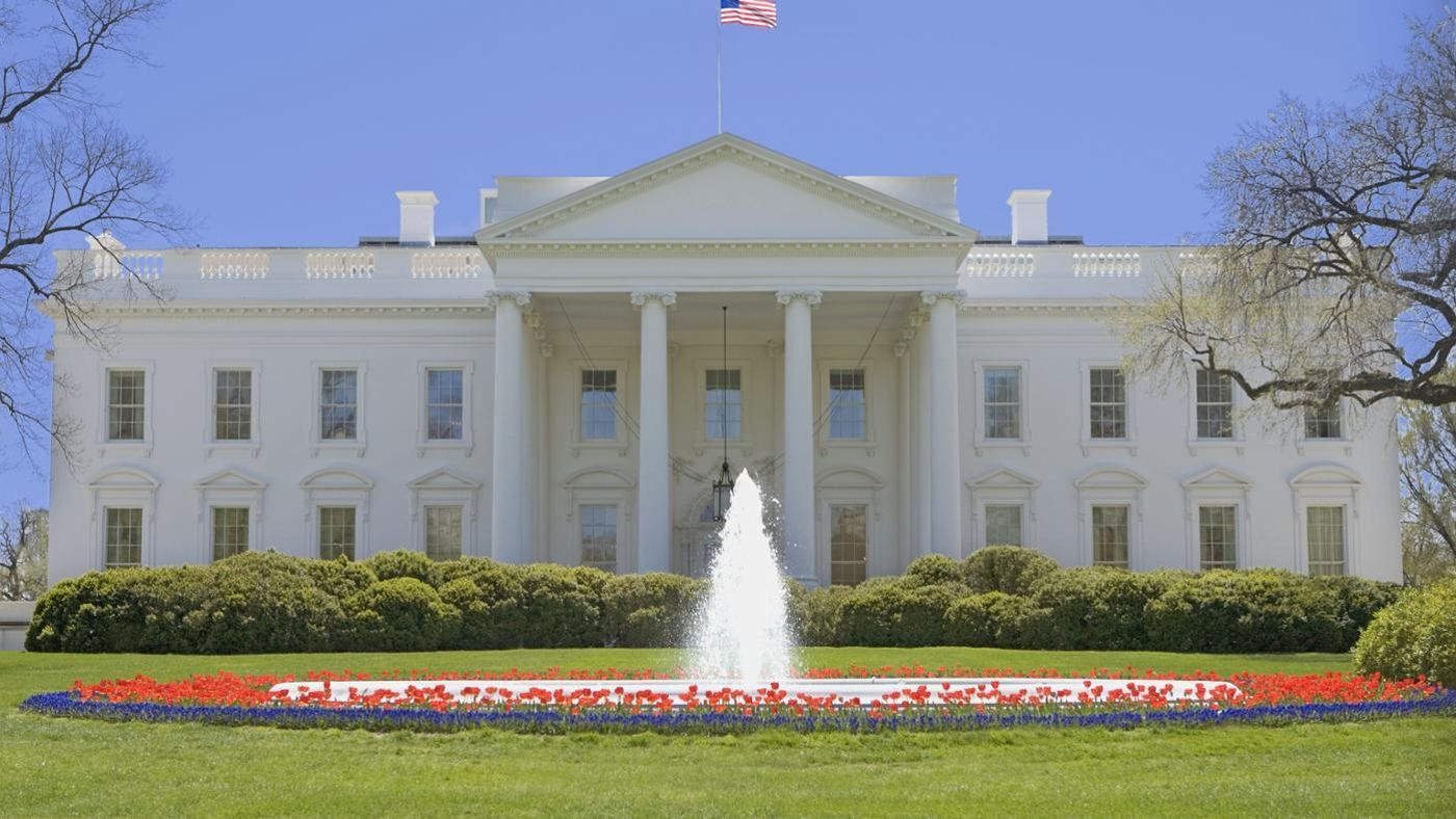 what was the original color of the white house. Black Bedroom Furniture Sets. Home Design Ideas