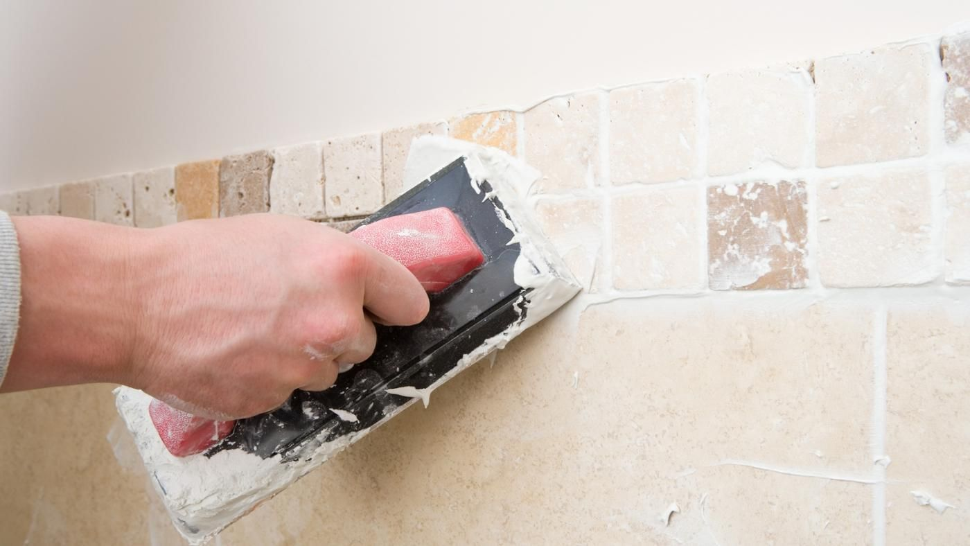 how do you remove dry grout from a tile surface. Black Bedroom Furniture Sets. Home Design Ideas