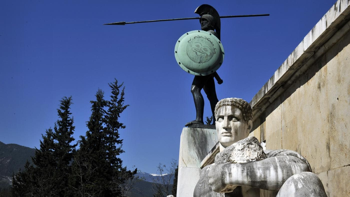government militarily and communism in greek sparta Sparta, also known as lacedaemon, was an ancient greek city-state located primarily in the present-day region of southern greece called laconia.