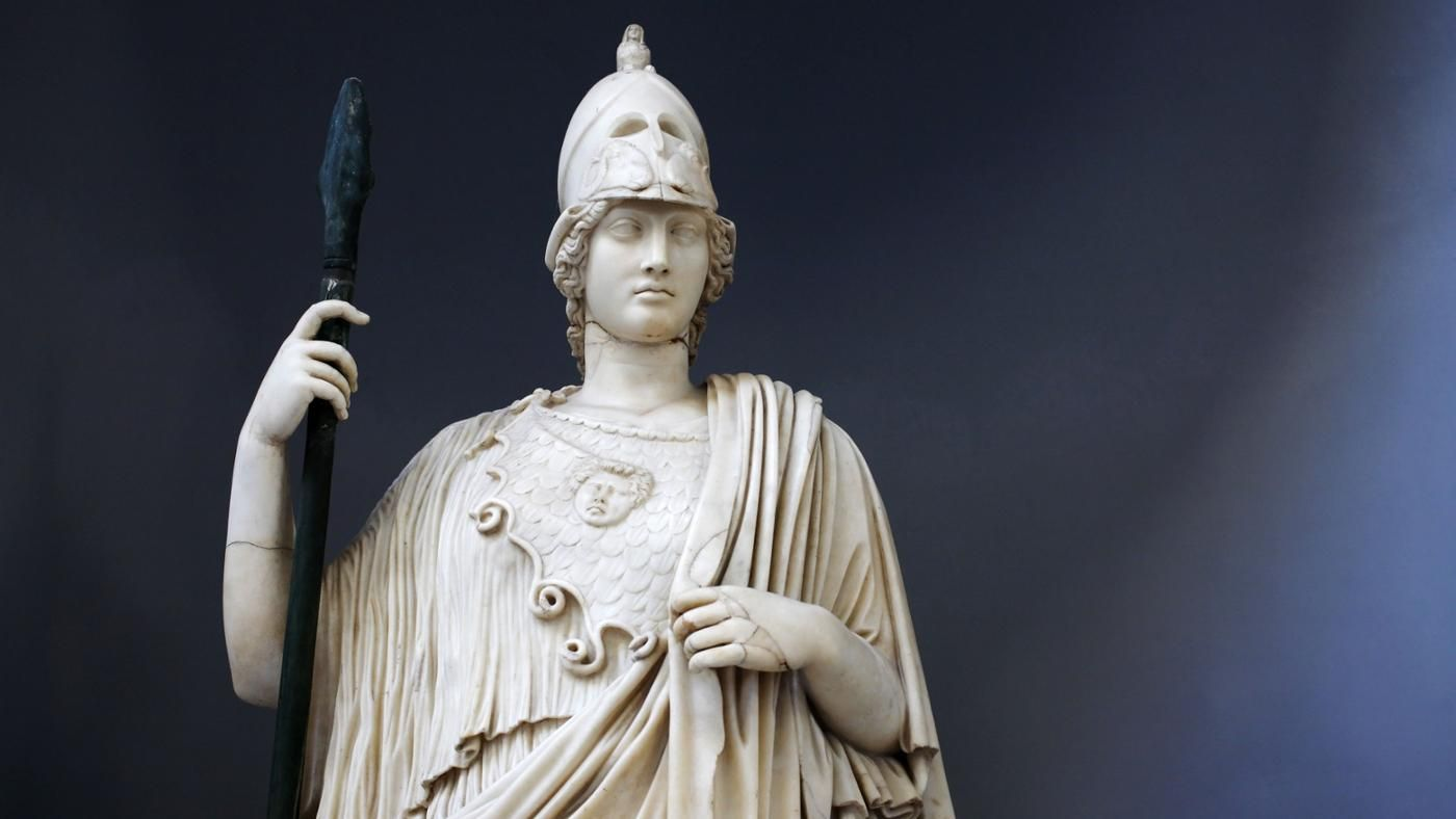the history of greek goddess athena Medusa in myth and literary history in greek myth medusa  in the same way that there is a hidden similarity between athena, goddess of wisdom.