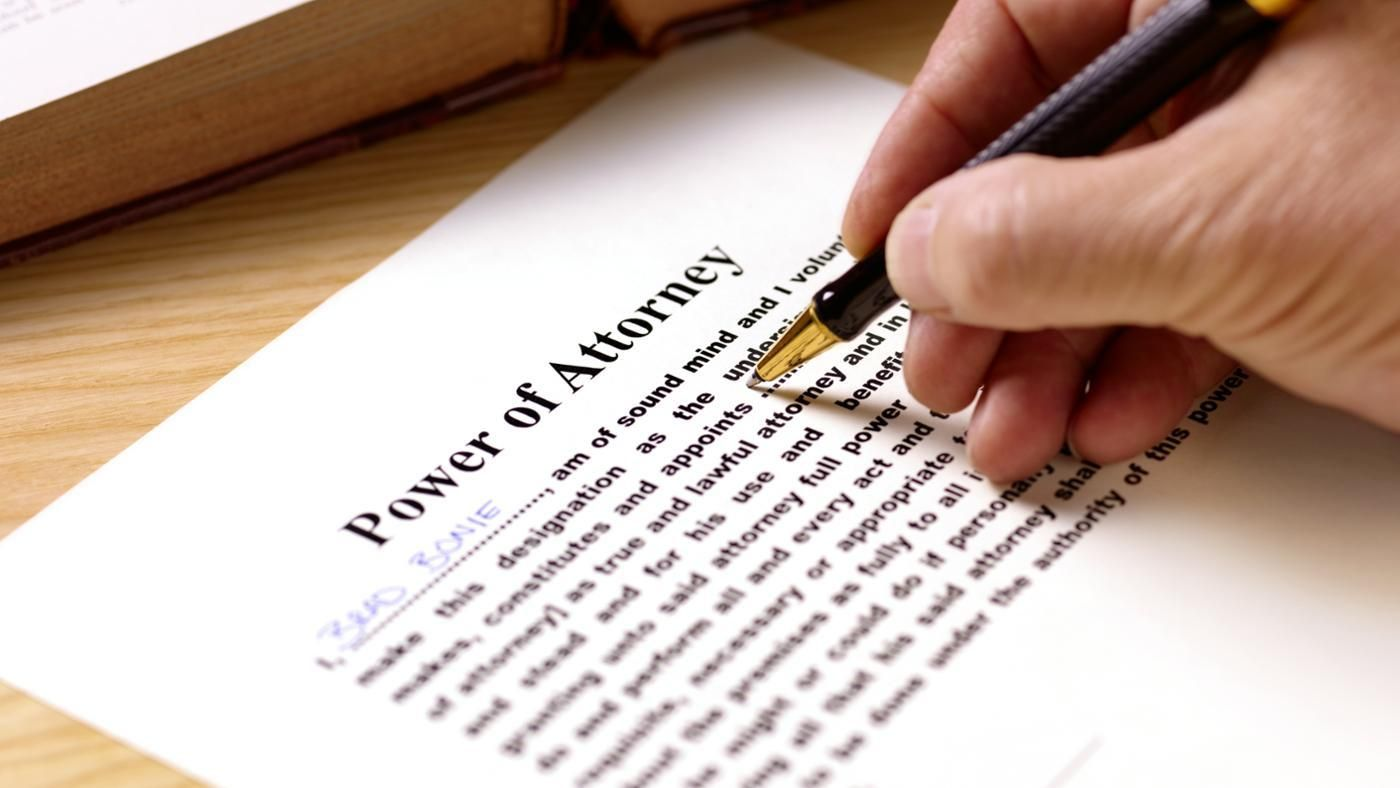 Are do it yourself power of attorney forms legal reference falaconquin