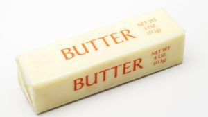 How many tablespoons are there in one stick of butter?
